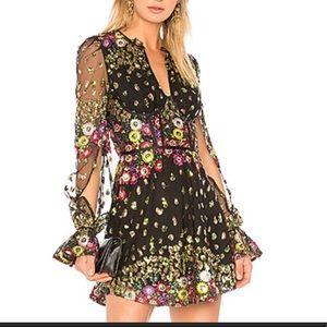 NEW NWT Lovers + Friends Kensington Dress XS